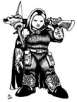 Female Dwarven Warrior